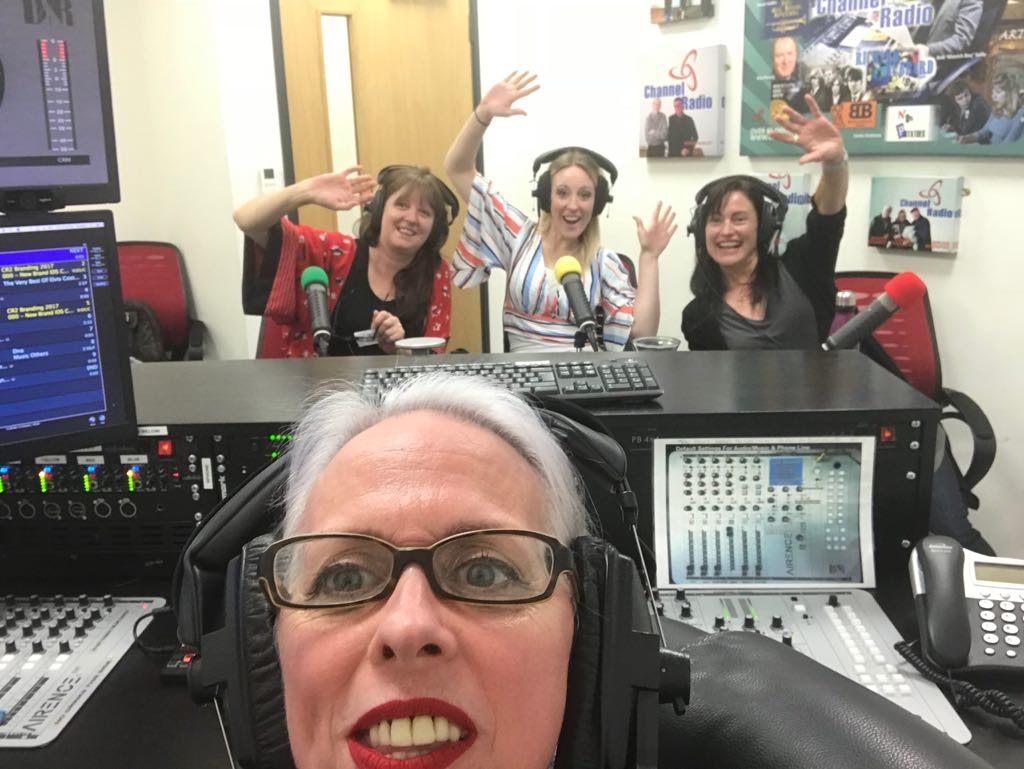 Carrie Stay and Tracy Greeney on the radio show